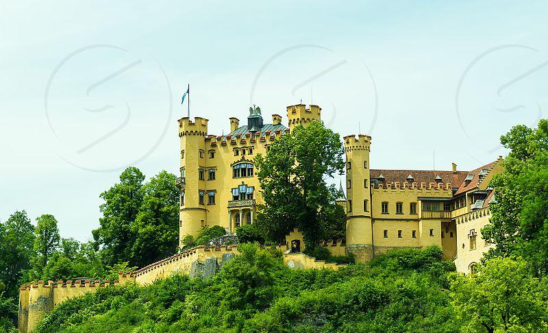 castle hohenschwangau bavaria photo