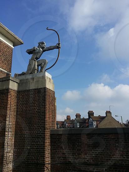 """""""The Archer"""" by Eric Aumonier. London. Art Deco photo"""