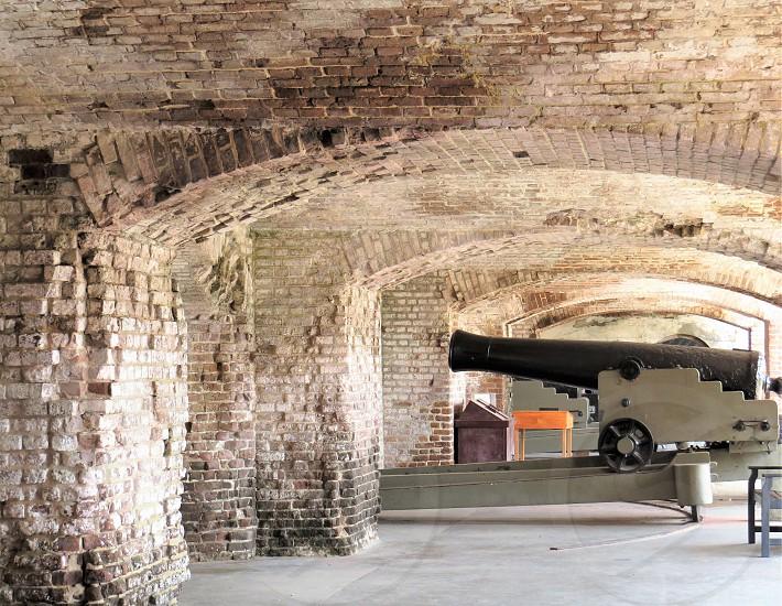 Civil War Cannon Fort Sumpter South Carolina  photo