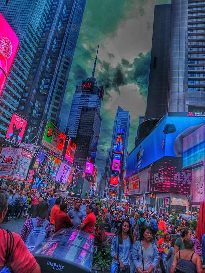 New York Timr square. photo