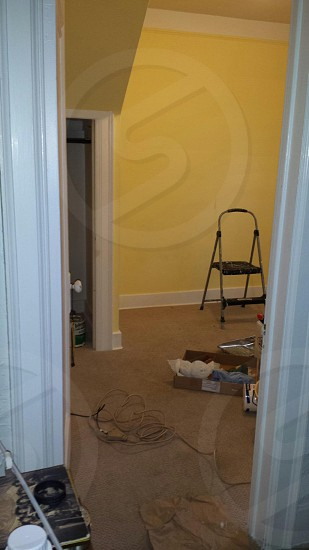 Say bye bye to my puke yellow walls photo