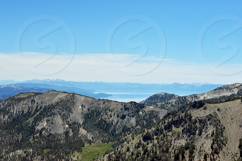 Mt. Rose summit with the lovely Lake Tahoe in the background.. xo photo