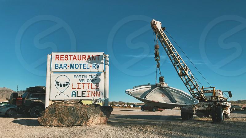 Event Nevada desert people storming Area 51 Area 51 alien stocksunset  ufo  photo