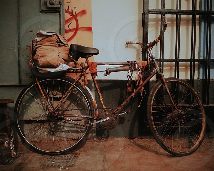Old bike. photo