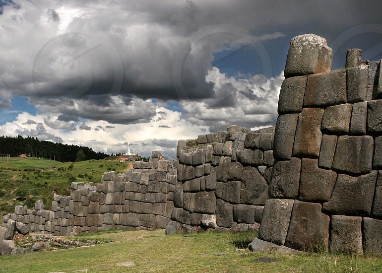 Ruins of Sacsayhuaman Peru photo