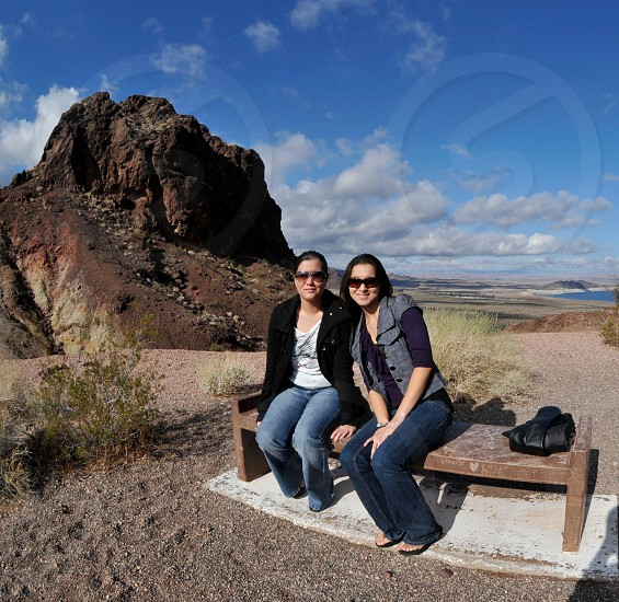 We stopped to enjoy the open air on our way to Las Vegas Nevada. photo