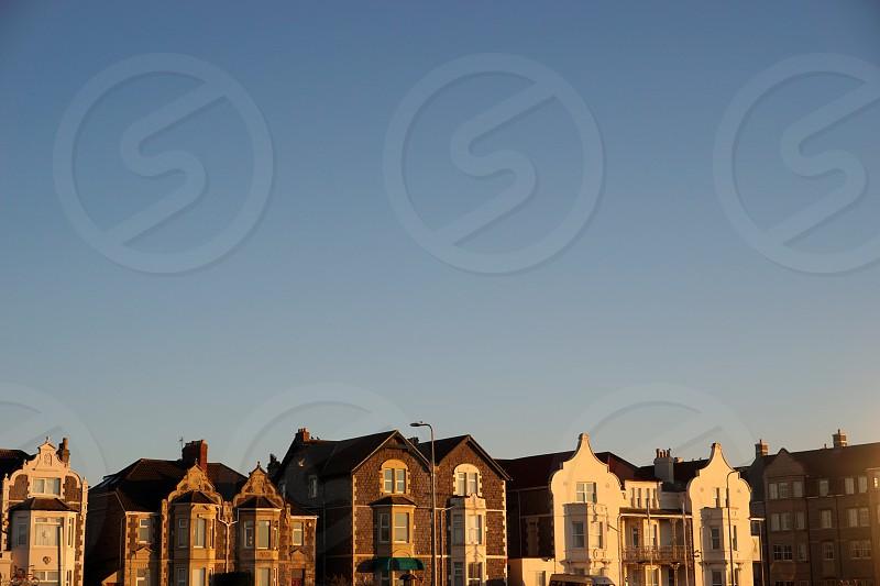 golden hour in Somerset photo