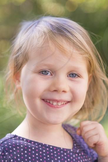 girl happy smile smiling innocence toddler child children dress photo