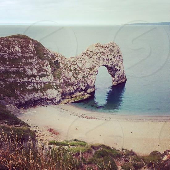 Weymouth sea arch photo