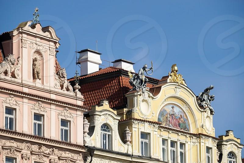 Ministry of Local Development Art Nouveau Building in Prague photo