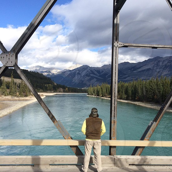 Jasper National Park Alberta Canada   Athabasca River photo