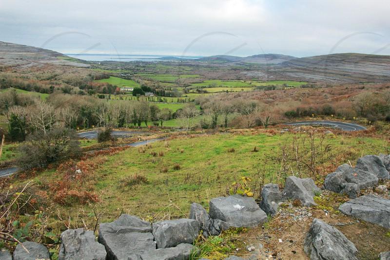 Ireland Winding road Coastline photo