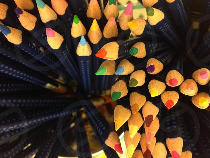 Color sticks photo