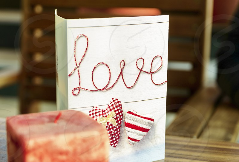 Love card for Valentines Day photo