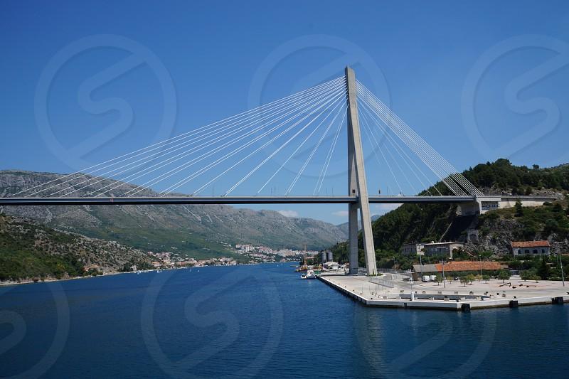 Bridge in Croatia photo
