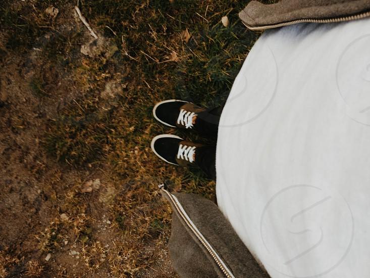 nike shoes white top photo