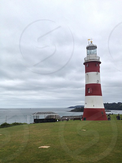 Lighthouse in Plymouth England  photo