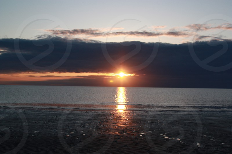 Skaket beach sunset MA  photo