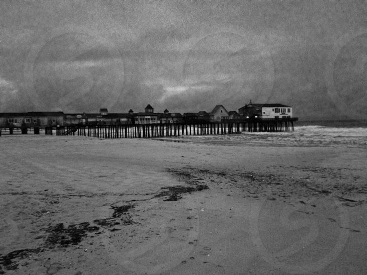 Old orchard beach pier-Old orchard beach Maine photo