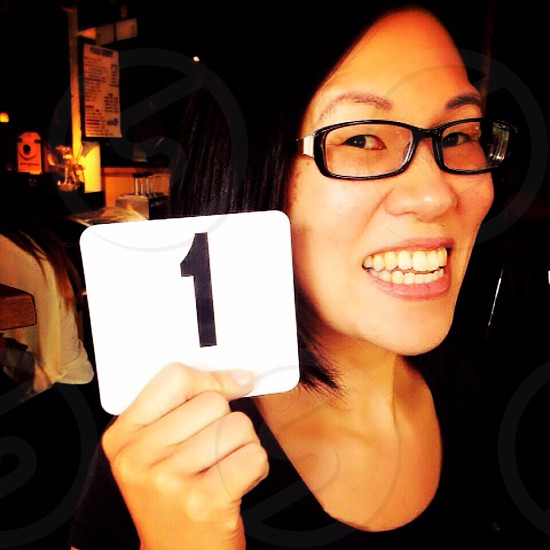 I'm number one!  photo