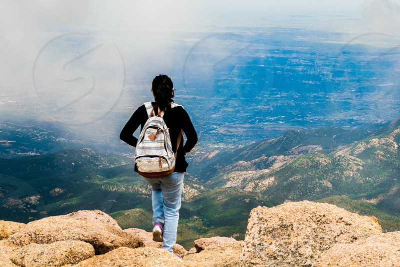 ColoradoPikes peakwandertravelhike photo