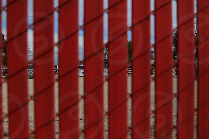Fence on fence on fence. photo