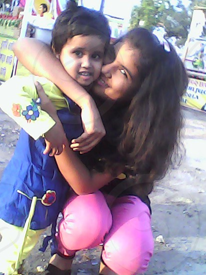 My two lil sis photo