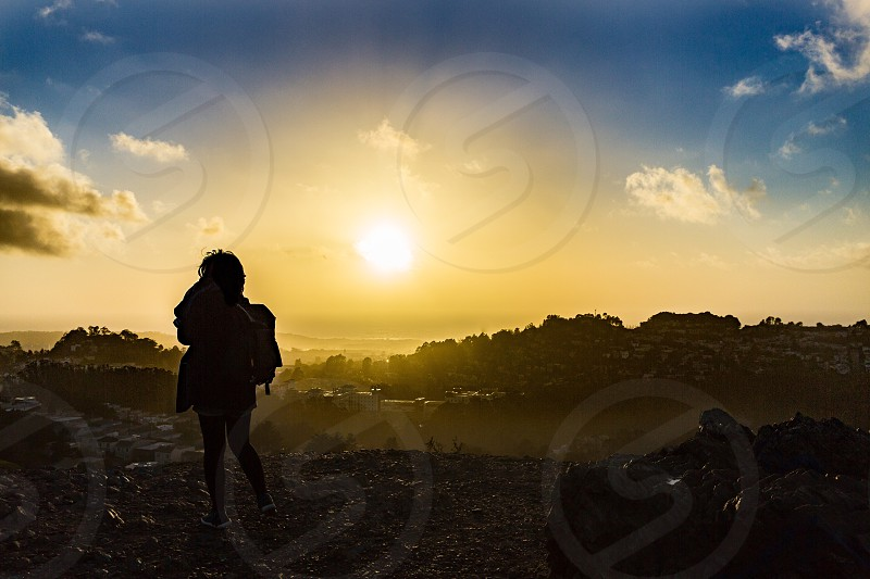 San Francisco twin peaks California wander explore travel adventure scenic destination Hertz @christielcaputo photo