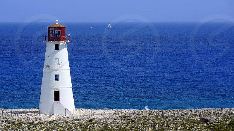 Lighthouse - Nassau Bahamas photo