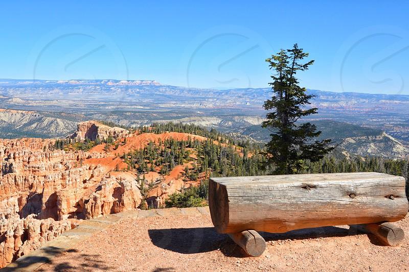 Bryce Canyon Overlook; Utah photo