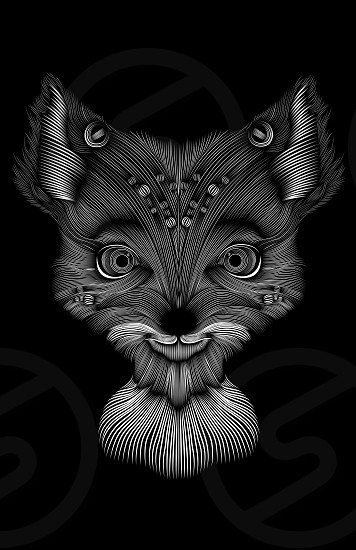 A Realy Cool Line Art Illustration Of The Fantastic Mr Fox Main Caracter Quot Agnes Quot Illustration Created In Adobe Illustrator Cc 2015 By Marcos Ramones Photo Stock Snapwire
