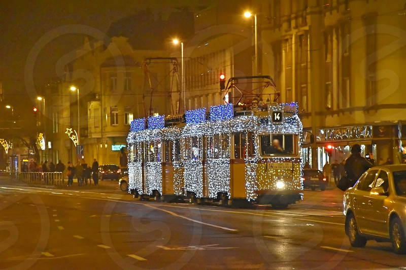 In Advent and Christmas time some trams run in 39200 LED lights. It is already a tradition. photo