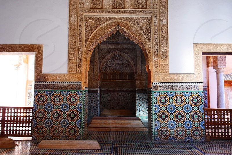 Tombeaux Saadiens - Marrakesh photo