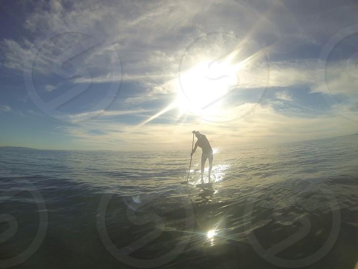 Morning paddle photo