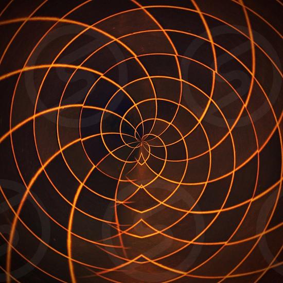 brown kaleidoscope photo