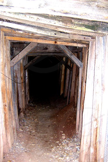 wood frame mine photo
