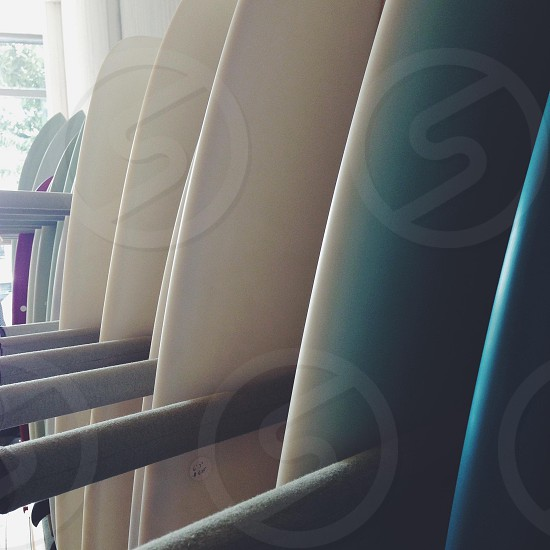 Surfboards.  photo