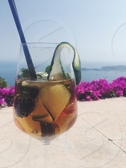 Pimm's Cup. 🍹 photo