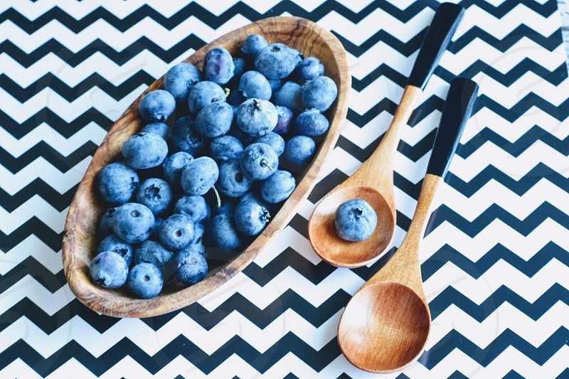 Blueberry superfood antioxidants healthy eating lifestyle  photo
