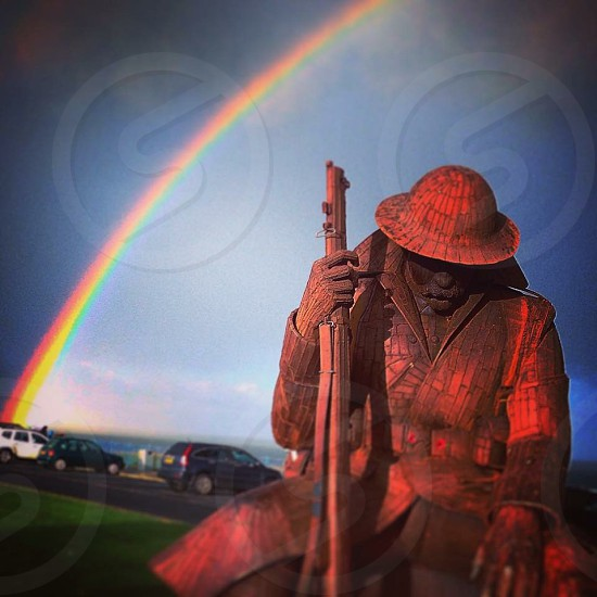 Look for me in rainbows : Tommy : 11th hour of the 11th month we shall remember them  photo