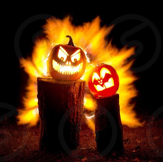 Extreme Halloween Jack-O-Lanterns photo