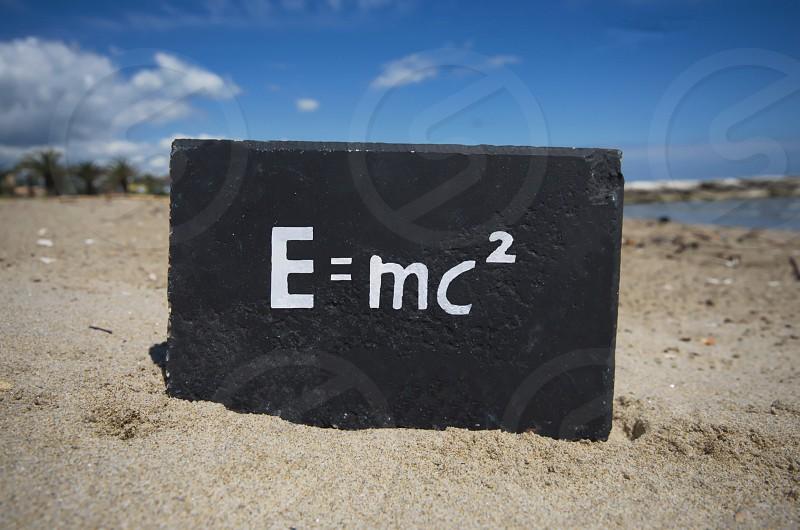 E=mc2 physics formula mass–energy equivalence photo