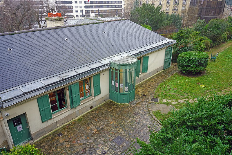 The Maison de Balzac in Paris France photo
