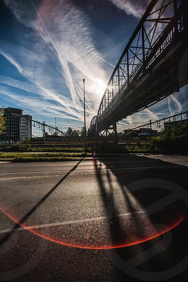 Leading lines - Zwolle railway station photo