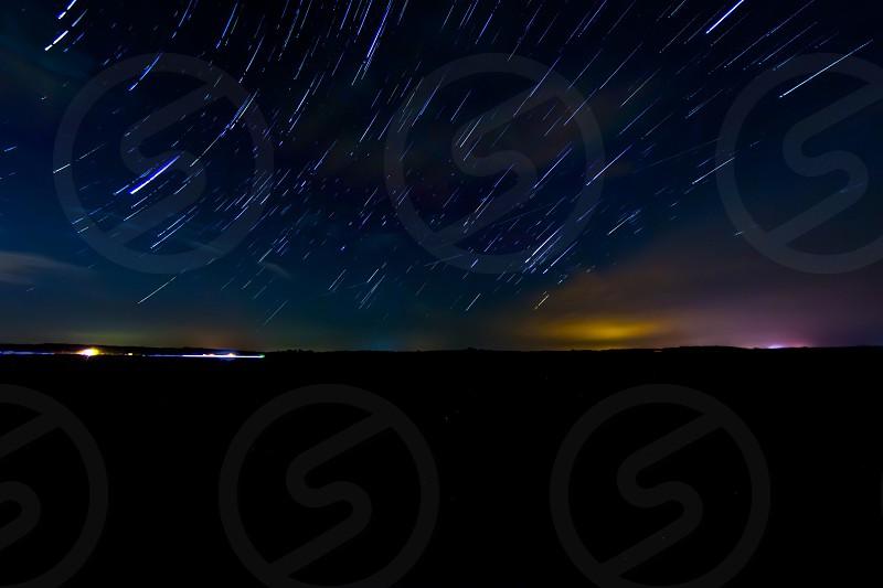 falling stars photo