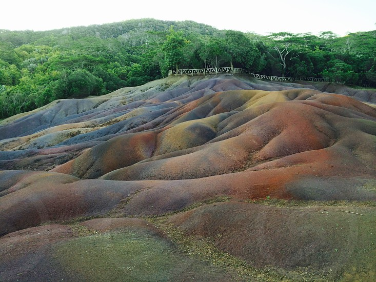 Seven Colored Earths photo