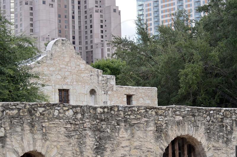 Remember the Alamo landscape view of the Alamo photo