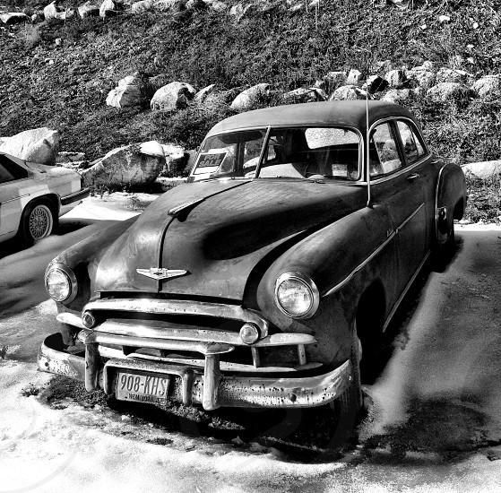 Vintage car automobile Chevy Chevrolet  photo