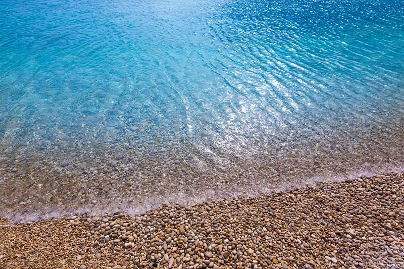 Javea La Granadella beach in Xabia Alicante Mediterranean Spain photo