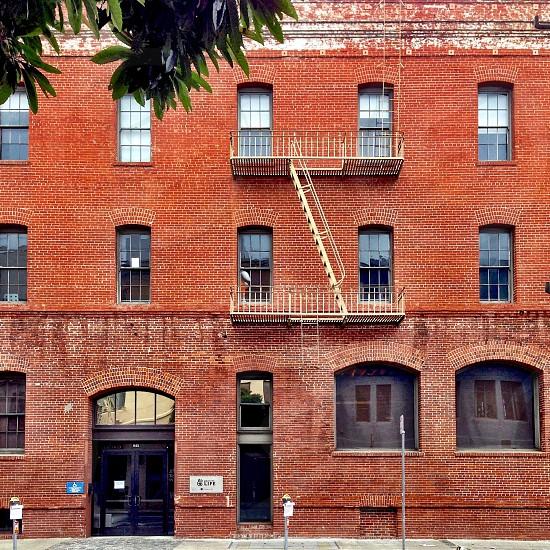 Brick building  photo